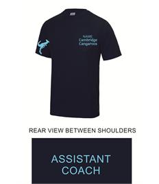 Cambridge Cangaroos Men's Cool T Shirt - ASSISTANT COACH