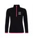 Let's Run Girls Girlie cool ½ zip sweatshirt