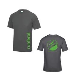 Run Feral Performance T Shirt