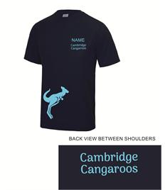 Cambridge Cangaroos Kids Cool T