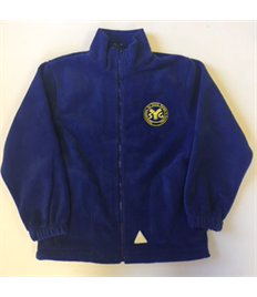 SYG Juniors Children's Royal Blue Fleece with embroidered logo
