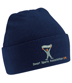DSA UK Junior French Navy Original Cuffed Beanie