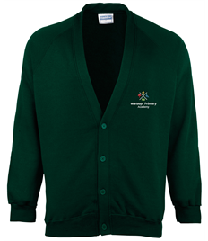 NEW WARBOYS ZECO CARDIGAN WITH EMBROIDERED LOGO