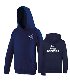 Little Aqua Just Keep Swimming Hoodie Ages 1-13 years