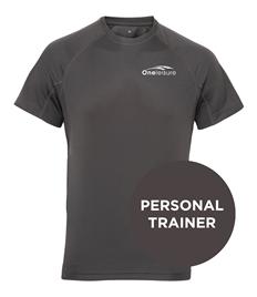 One Leisure PT Men's Tri Dri Panelled Tech T-Shirt