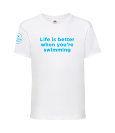 Little Aqua Life is better T-shirt Ages 3-13 years