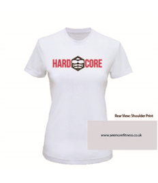 See More Fitness Women's Hardcore Printed Performance Tee