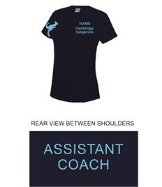 Cambridge Cangaroos Ladies Cool T-Shirt - ASSISTANT COACH